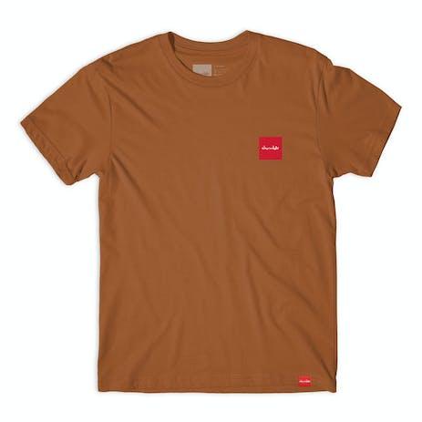 Chocolate World Taxis T-Shirt - Texas Orange