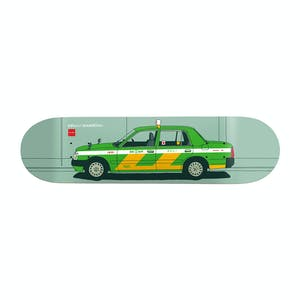 "Chocolate World Taxis 8.0"" Skateboard Deck - Anderson"