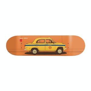 "Chocolate World Taxis 8.5"" Skateboard Deck - Tershy"