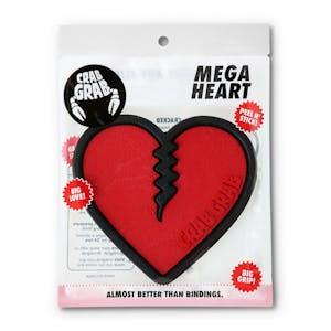 Crab Grab Mega Heart Stomp Pad - Red/Black