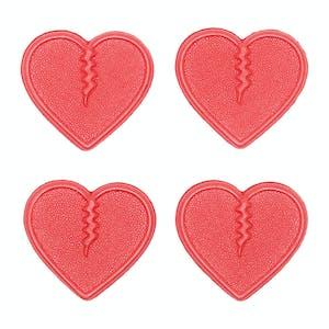 Crab Grab Mini Hearts Stomp Pad - Red