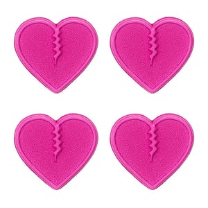 Crab Grab Mini Hearts Stomp Pad - Pink