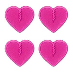 Crab Grab Mini Hearts Stomp Pad - Pink