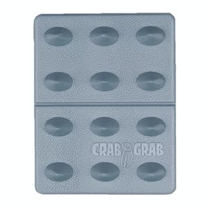Crab Grab Mini Shark Teeth Stomp Pad - Clear