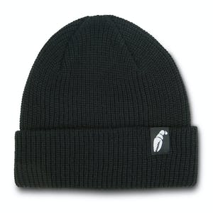 Crab Grab The Claw Label Beanie - Black