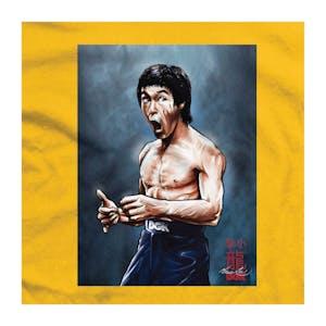DGK x Bruce Lee Focused T-Shirt - Gold