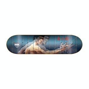 """DGK x Bruce Lee Mirrors 8.25"""" Lenticular Skateboard Deck"""