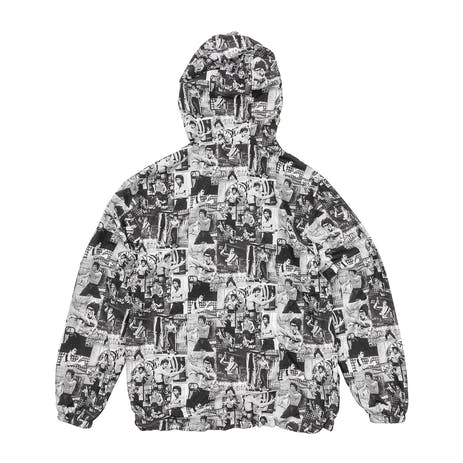 DGK x Bruce Lee Montage Windbreaker Jacket - Black