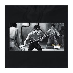 DGK x Bruce Lee Power Hoodie - Black