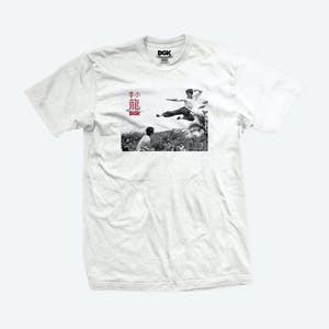 DGK x Bruce Lee Paradise T-Shirt - White