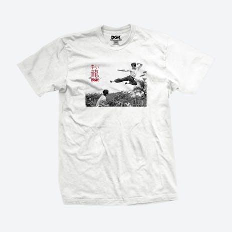 DGK x Bruce Lee Paradise T-Shirt - White