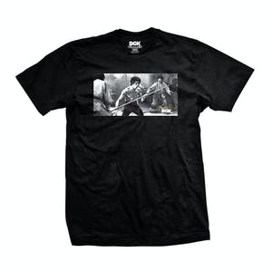 DGK x Bruce Lee Power T-Shirt - Black