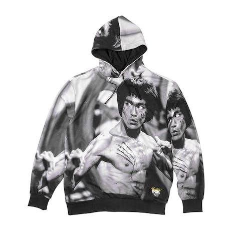 DGK x Bruce Lee Scratch Hoodie - Black