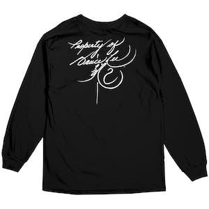 DGK x Bruce Lee Scratch Long Sleeve T-Shirt - Black