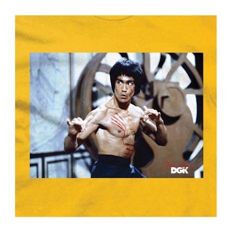 DGK x Bruce Lee Scratch T-Shirt - Gold
