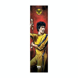 DGK x Bruce Lee Skateboard Griptape - Technique