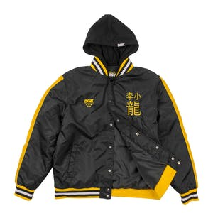 DGK x Bruce Lee Yin Yang Stadium Jacket - Black