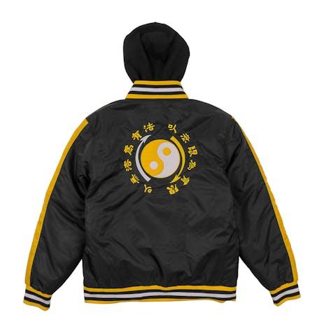 DGK x Bruce Lee Yin Yang Stadium Jacket - Black