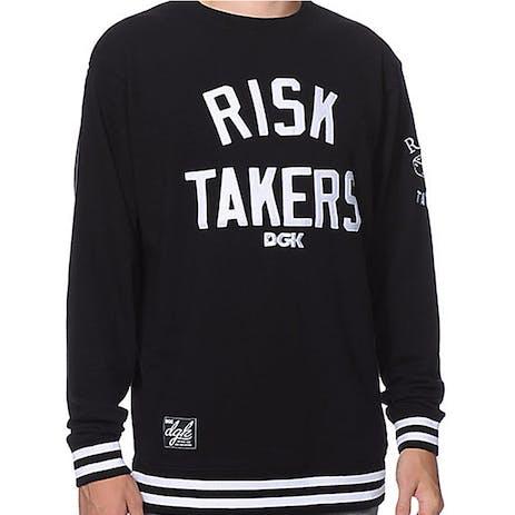 DGK Risk Takers Crew — Black