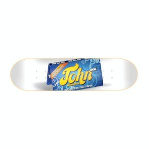 "DGK Rolling Papers 8.25"" Skateboard Deck - Shanahan"