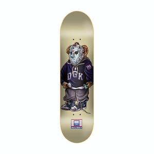 """DGK The Plug 8.0"""" Skateboard Deck - Cream"""