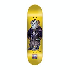 "DGK The Plug 8.06"" Skateboard Deck - Yellow"
