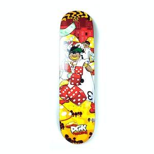 """DGK Ghettoland 8.0"""" Skateboard Deck - Fagundes"""