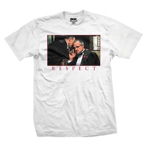 DGK Mobsters Respect T-Shirt - White