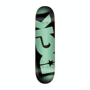 """DGK OG Logo 7.75"""" Skateboard Deck - Black/Mint"""
