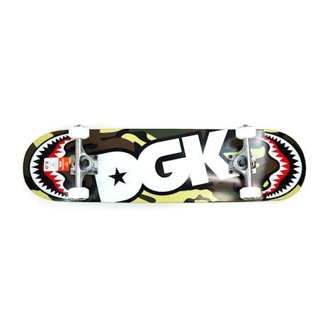 "DGK Pilot 8.0"" Complete Skateboard - Camo"