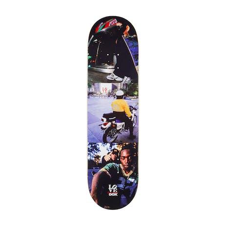 """DGK x Gee Love Park Forever 8.25"""" Skateboard Deck"""