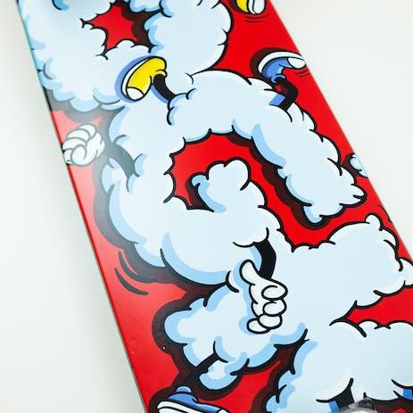 "DGK Scraps 7.75"" Complete Skateboard - Red"