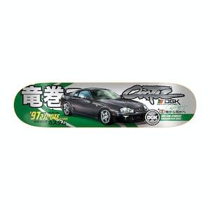 """DGK Tuner 8.1"""" Skateboard Deck - Ortiz"""