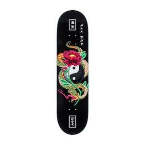 "DGK Viper Logo 8.125"" Skateboard Deck - Black"