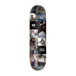 "DGK x TWS The Reason 8.06"" Skateboard Deck - Stevie Williams"
