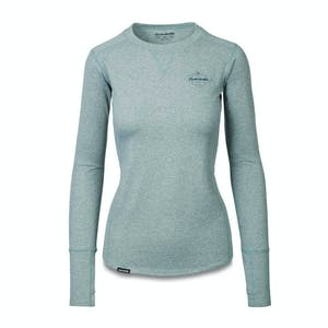 Dakine Larkspur Mid Layer Crew - Deep Teal Heather