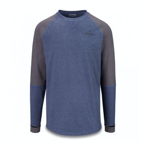 Dakine Union Mid Layer Crew - Night Sky Black Heather