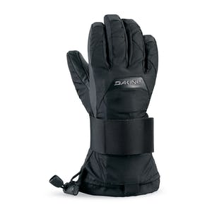 Dakine Wrist Guard Jr Kids' Snowboard Gloves — Black