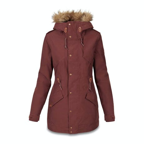 Dakine Brentwood Women's Snowboard Jacket 2020 - Rust Brown