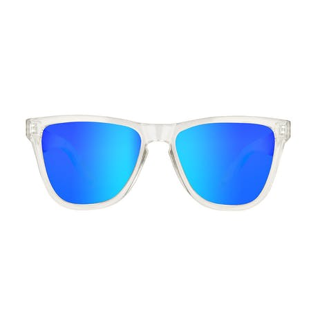 Daybreak Polarised Sunglasses - Crystal Clear/Blue
