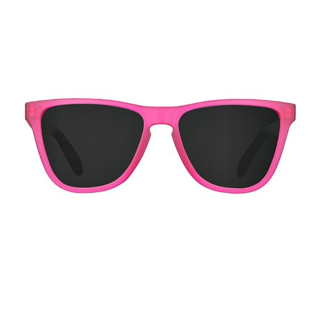 Daybreak Polarised Sunglasses - Frosted Pink/Black