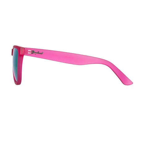 Daybreak Polarised Sunglasses - Frosted Pink/Blue