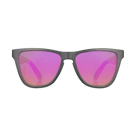 Daybreak Polarised Sunglasses - Jet Black/Pink