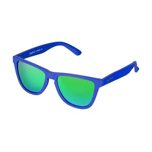 Daybreak Polarised Sunglasses - Royal Blue/Green
