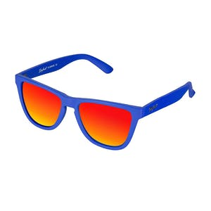 Daybreak Polarised Sunglasses - Royal Blue/Sunset