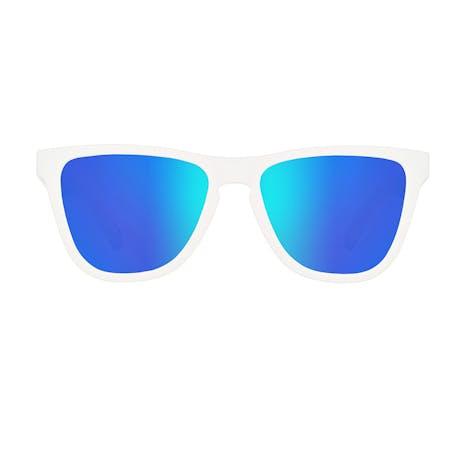 Daybreak Polarised Sunglasses - Snow White/Blue