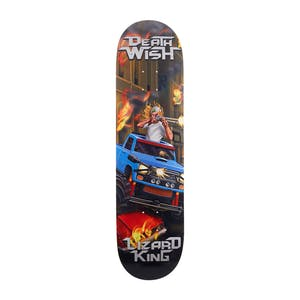 "Deathwish Lizard King Metal Mayhem 8.125"" Skateboard Deck"