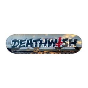 "Deathwish Bombing Trains 8.475"" Skateboard Deck"