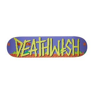 """Deathwish Deathpray 8-Bit 8.25"""" Skateboard Deck"""