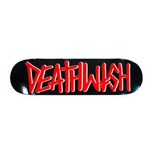 Deathwish OG Deathspray Skateboard Deck - Black/Red
